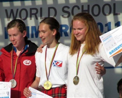 Gold for Jenny at World Schools