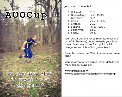 AUOCup flyer