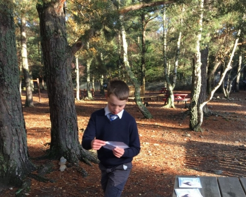 Orienteering at Ballater School