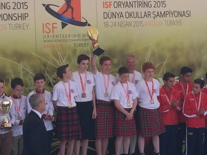 Banchory Academy World Schools Champions in M2 category